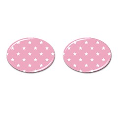 Stars pattern Cufflinks (Oval)