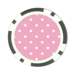 Stars pattern Poker Chip Card Guard (10 pack)