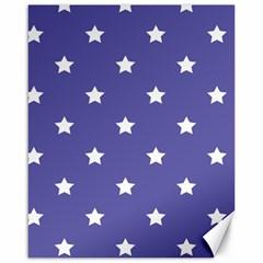 Stars pattern Canvas 16  x 20