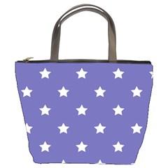 Stars pattern Bucket Bags