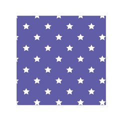 Stars pattern Small Satin Scarf (Square)