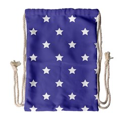 Stars pattern Drawstring Bag (Large)