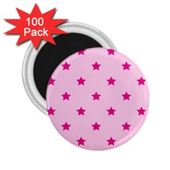 Stars pattern 2.25  Magnets (100 pack)