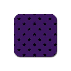 Stars pattern Rubber Square Coaster (4 pack)