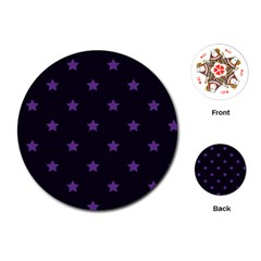 Stars pattern Playing Cards (Round)