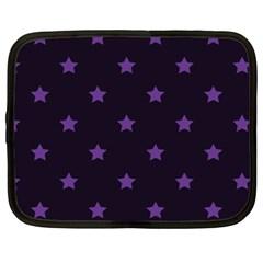 Stars pattern Netbook Case (Large)