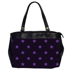 Stars pattern Office Handbags (2 Sides)