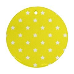 Stars pattern Ornament (Round)