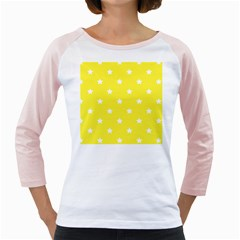 Stars pattern Girly Raglans