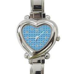 Pattern Heart Italian Charm Watch