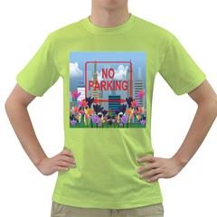 No parking  Green T-Shirt