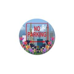 No parking  Golf Ball Marker (10 pack)