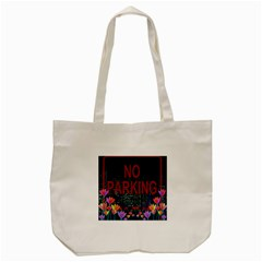 No parking  Tote Bag (Cream)