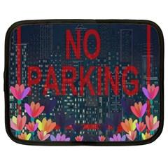No parking  Netbook Case (XL)
