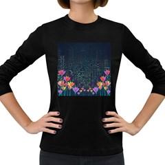 Urban nature Women s Long Sleeve Dark T-Shirts