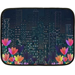 Urban nature Double Sided Fleece Blanket (Mini)