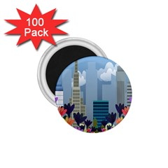Urban nature 1.75  Magnets (100 pack)