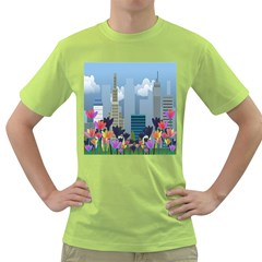 Urban nature Green T-Shirt