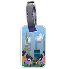 Urban nature Luggage Tags (One Side)
