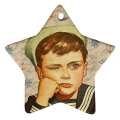 Little sailor  Ornament (Star)