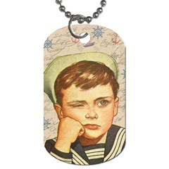 Little sailor  Dog Tag (One Side)