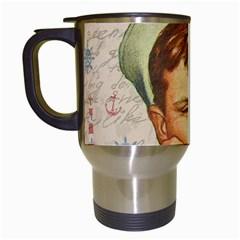 Little sailor  Travel Mugs (White)