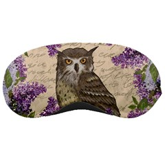 Vintage owl and lilac Sleeping Masks