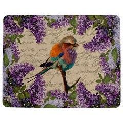 Vintage bird and lilac Jigsaw Puzzle Photo Stand (Rectangular)