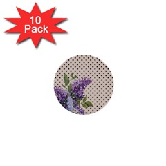 Vintage lilac 1  Mini Buttons (10 pack)