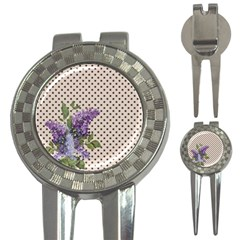 Vintage lilac 3-in-1 Golf Divots