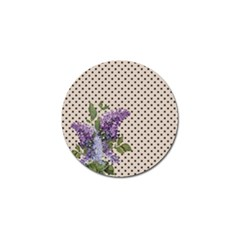 Vintage lilac Golf Ball Marker
