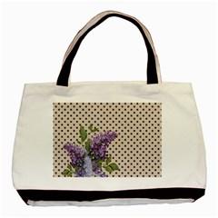 Vintage lilac Basic Tote Bag