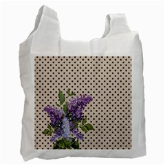 Vintage lilac Recycle Bag (One Side)