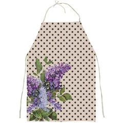 Vintage lilac Full Print Aprons