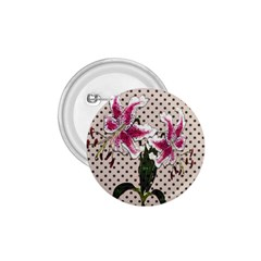 Vintage flowers 1.75  Buttons