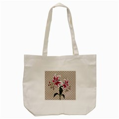 Vintage flowers Tote Bag (Cream)