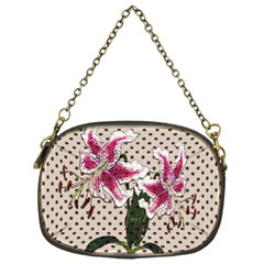 Vintage flowers Chain Purses (One Side)