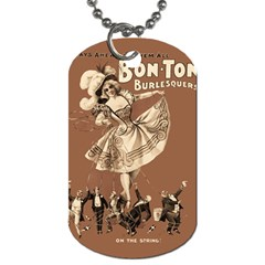 Bon-ton Dog Tag (Two Sides)