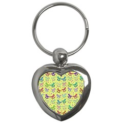 Toys pattern Key Chains (Heart)
