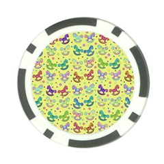 Toys pattern Poker Chip Card Guard
