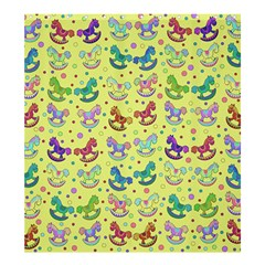 Toys pattern Shower Curtain 66  x 72  (Large)