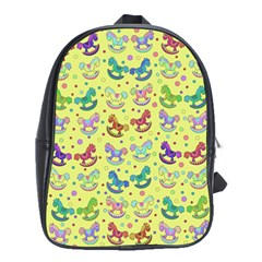 Toys pattern School Bags(Large)