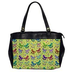 Toys pattern Office Handbags