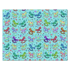 Toys pattern Rectangular Jigsaw Puzzl