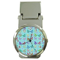 Toys pattern Money Clip Watches