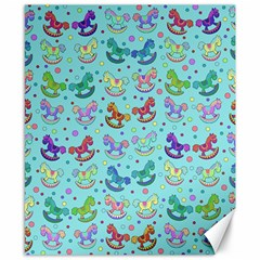 Toys pattern Canvas 8  x 10