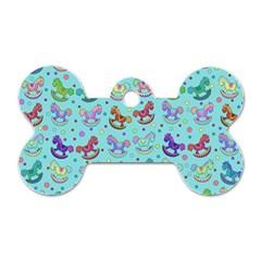 Toys pattern Dog Tag Bone (One Side)