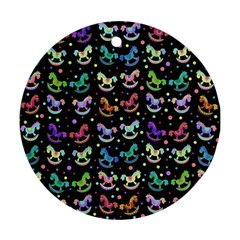 Toys pattern Ornament (Round)
