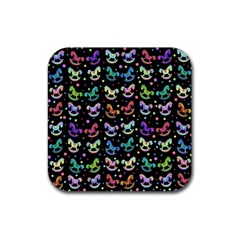 Toys pattern Rubber Coaster (Square)