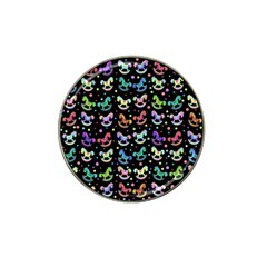 Toys pattern Hat Clip Ball Marker (4 pack)